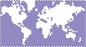 Världen kartlägger royaltyfri foto