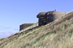 Världen kriger 2 bunker royaltyfri fotografi