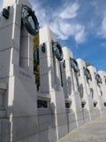 Världen kriger II minnesmärke, Washington, DC royaltyfria bilder