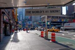 Världens show #1 - mamma Mia på Broadway, New York City arkivbilder