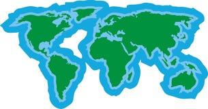 världsöversikt Fotografering för Bildbyråer