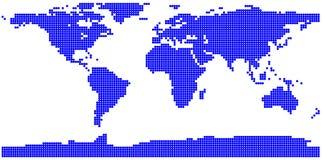 Världsöversikt Stock Illustrationer