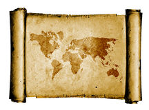 Världsöversikt Arkivfoto