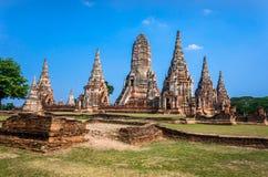 Världsarv i Ayutthaya, Thailand Royaltyfri Foto