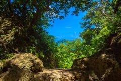 Världsarv Sefa Utaki, andligt utrymme i Okinawa, Japan Royaltyfri Bild