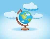 Världsbakgrund Arkivbild