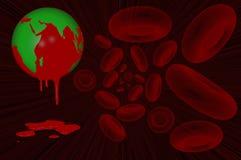 Världsblödarsjukadag 17 April Arkivfoton