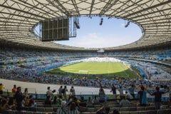 Världscup Brasilien 2014 - Argentina 1 x 0 Iran arkivbilder