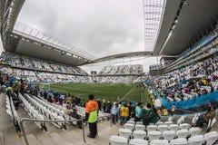 Världscup Brasilien 2014 - Urugu Royaltyfria Foton