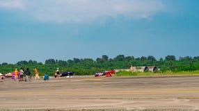 Världscup Thailand 2017 för luft Race1 på U-Tapao den sjö- flygbasen i Thailand royaltyfria foton