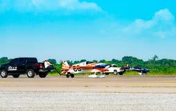 Världscup Thailand 2017 för luft Race1 på U-Tapao den sjö- flygbasen i Thailand royaltyfria bilder