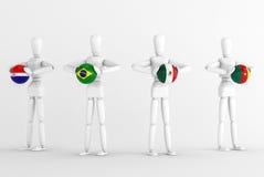 Världscupgrupp A Arkivfoton