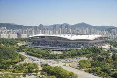 Världscupstadion i Seoul royaltyfria bilder