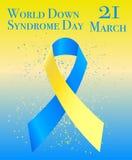 VärldsDown Syndrome dag Royaltyfria Foton