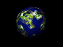 Världsjordklot Fotografering för Bildbyråer