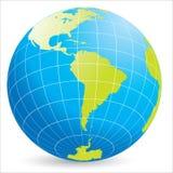 Världsjordklot Arkivbild
