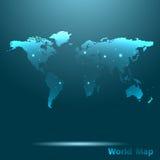 Världskarta Royaltyfri Foto