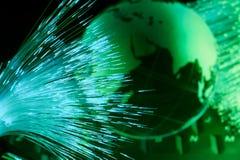 Världskartateknologistil arkivbild