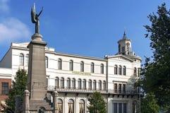 Världsmuseum och monument Caland i Rotterdam Arkivfoto