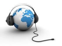 Världsmusik Arkivfoto