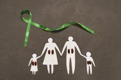 Världsnjuredag, ett program som informerar patienter om hälsan Royaltyfri Foto