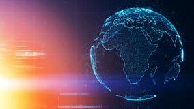 Världsomspännande begreppsmässig bakgrund för global affär royaltyfria foton