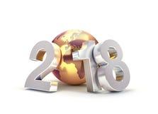 2018 världsomspännande hälsningsymbol Arkivbild