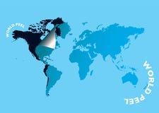 Världspeel stock illustrationer