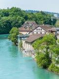 Världsskattstad - Bern, Schweiz Arkivfoto
