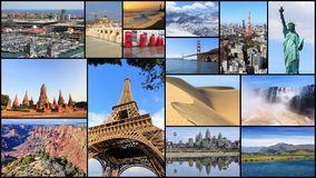 Världsställen Arkivbilder