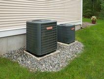 Värma och betingande enheter för luft royaltyfri fotografi