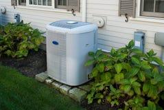 Värma och betingande enheter för luft royaltyfria foton