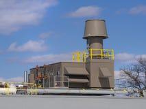 Värma och kyla ventilationssystemet Arkivbilder