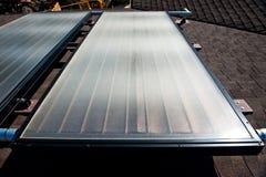 värmande upp sol- systemvatten Royaltyfri Fotografi