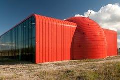 Värmeöverföringsstation i Almere, Nederländerna Arkivbilder