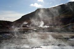 Värme av jorden Arkivfoton
