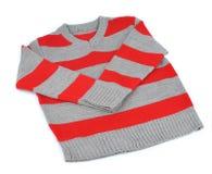 Värme den randiga tröjan Fotografering för Bildbyråer