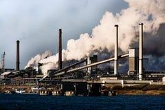 värme för förorening för luft global Arkivbild