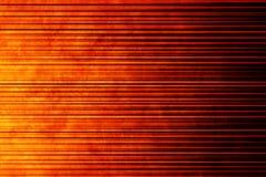 värme linjära orange för bakgrund Royaltyfria Bilder