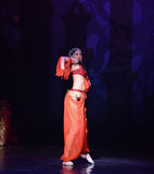 """Värme Nights†för """"One tusen och en för bukdansbalett  Royaltyfri Foto"""