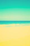 Värme stranden Arkivfoton