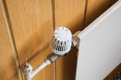 Värmeapparat termostat arkivbilder