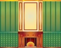värmeapparatinteriorlokal Vektor Illustrationer