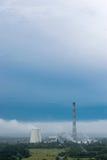 Värmekraftverk Arkivbild