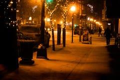 Värmen av gatorna royaltyfria foton