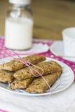Väsentliga kakor för frukost Arkivbilder