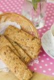 Väsentliga kakor för frukost Royaltyfria Foton