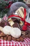 Väsentliga kex och choklader Arkivbild