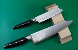Vässa för kniv Royaltyfria Bilder