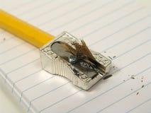 vässad blyertspenna royaltyfri foto